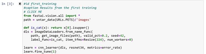 jupyter_notebook_cuda_runtime_error_fix_num_workers_syntax_for_imagedataloaders_windows10