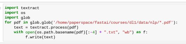 Language: best practices - datasets for text classification - Part 1