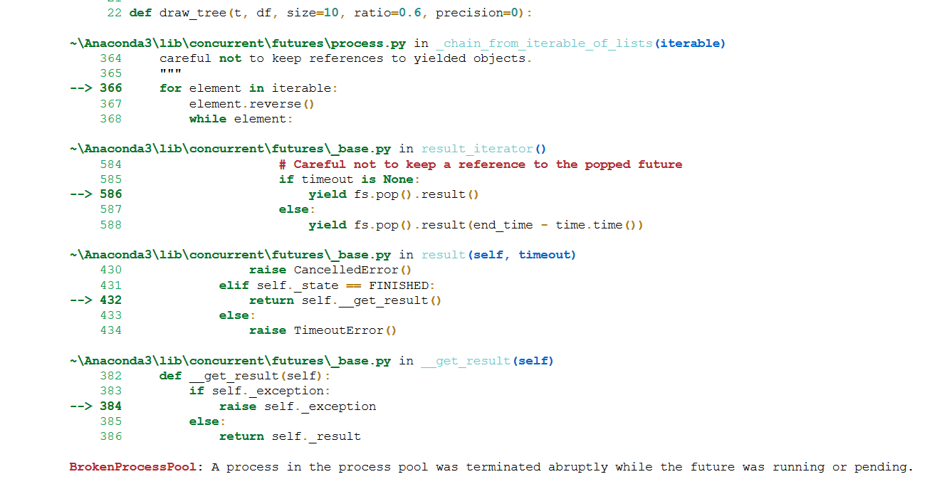 L14] Problem with futures and ProcessPoolExecutor - Part 2