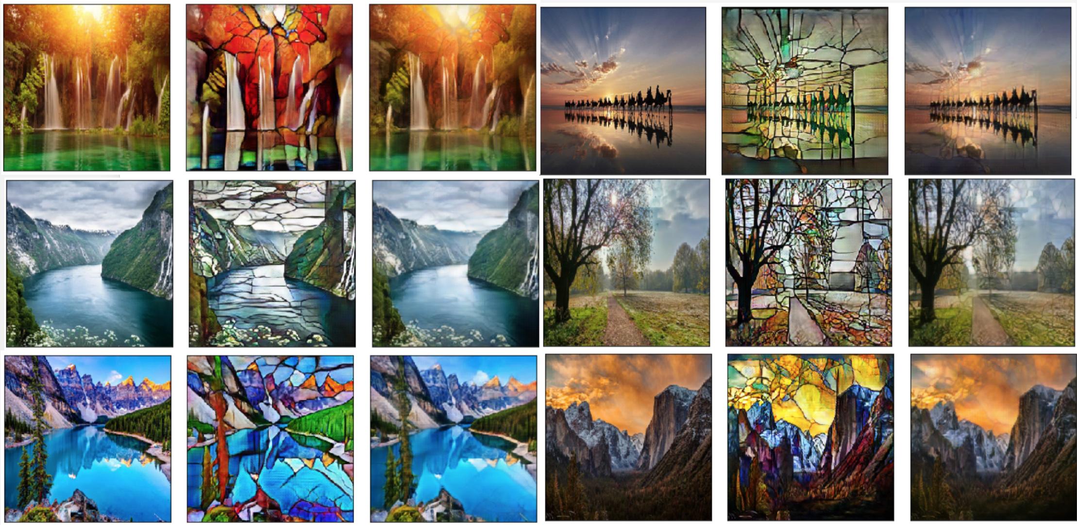 Cycle GAN Art -- completing visual loop :-) - Part 2