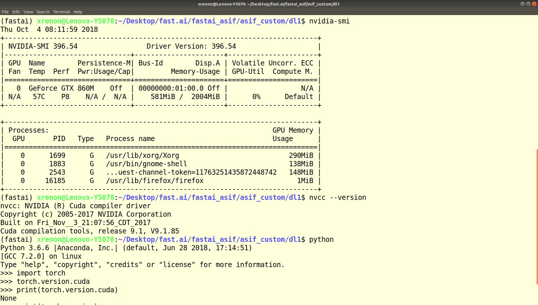 Successful ubuntu 18 04 with iGPU for xserver and nvidia GPU for