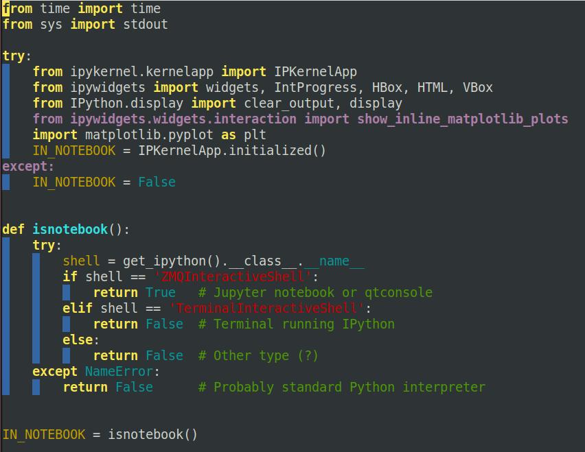 Progress bars in IPython Notebooks - fastai dev - Deep