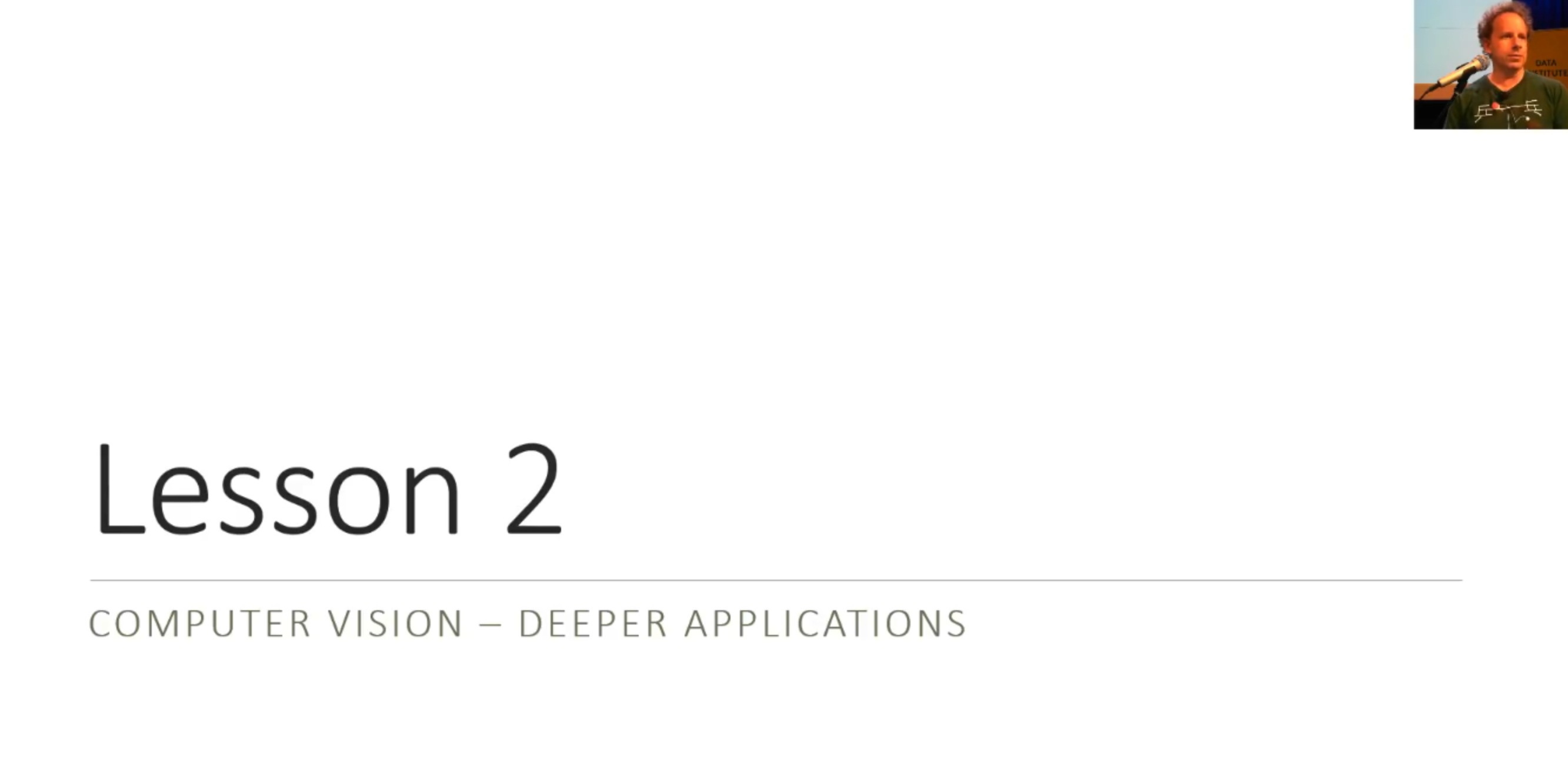 📝 Deep Learning Lesson 2 Notes - Part 1 (2019) - Deep Learning