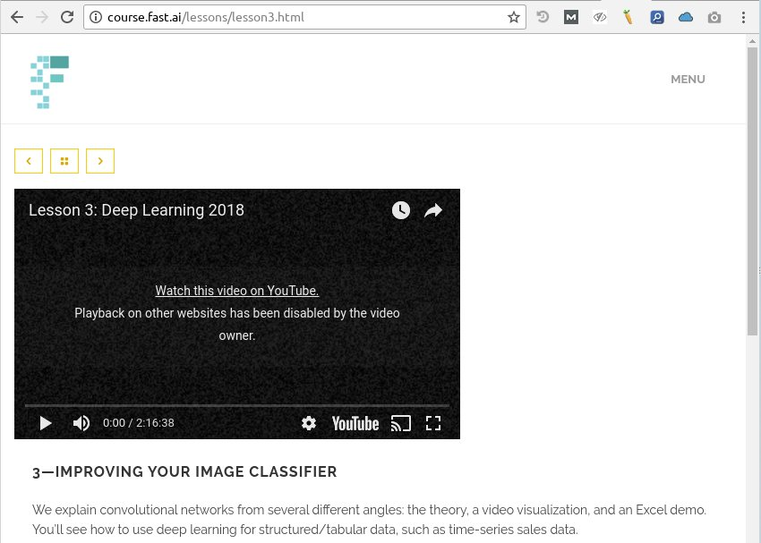 Wiki: Lesson 3 - Part 1 (2018) - Deep Learning Course Forums