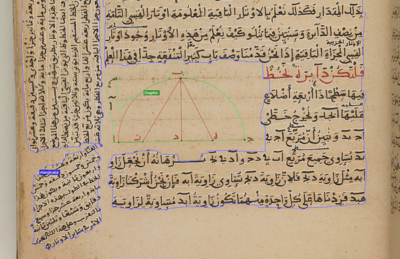 Image Segmentation and OCR for Medieval Arabic Manuscripts