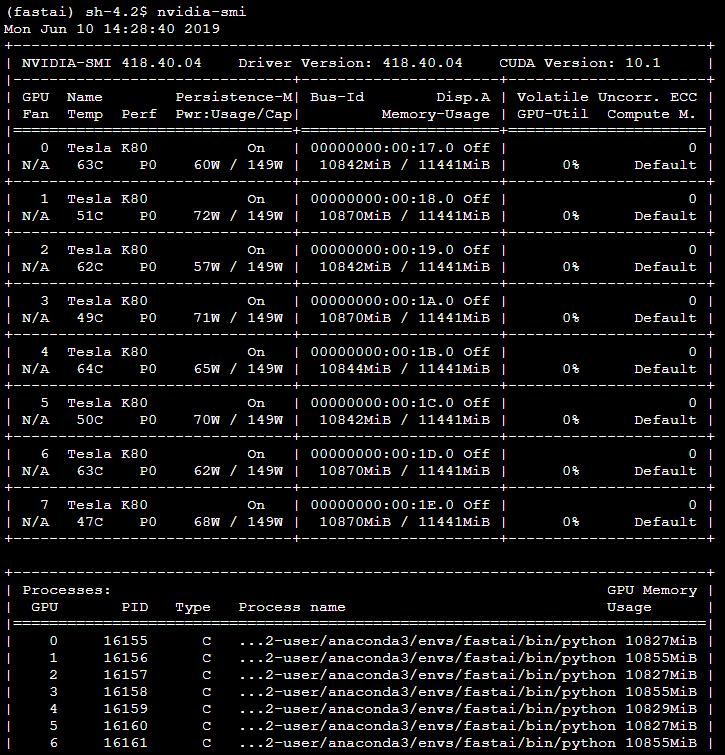 DistributedDataParallel init hanging - dev projects - Deep